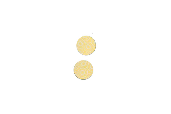"Lillypilly - Gold Anemone - 3/4"" Disc (PKG 2)"