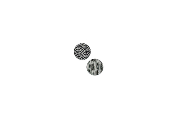 "Lillypilly - Black Waves - 5/8"" Disc (PKG 2)"