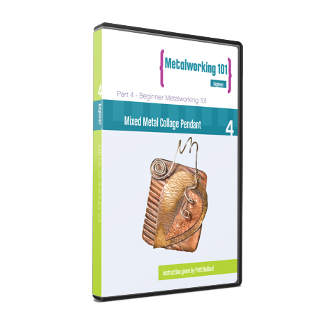 Metalworking 101 Beginner Series DVD 4: Mixed Metal Collage Pendant
