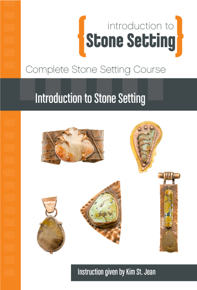 Complete Stone Setting Course with Kim St. Jean - 16 DVD Set