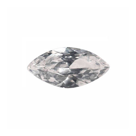 10X5mm Marquise White CZ - Pack of 2