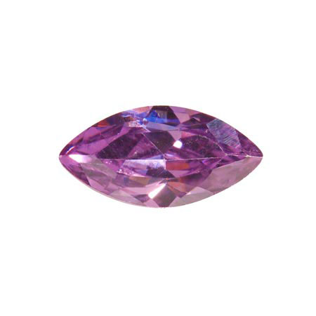 14X7mm Marquise Light Amethyst CZ - Pack of 1