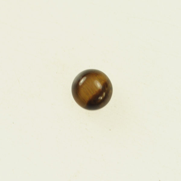 Tiger Eye 6mm Round Cabochon - Pack of 2