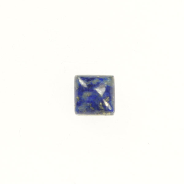Lapis 6mm Square Cabochon - Pack of 2