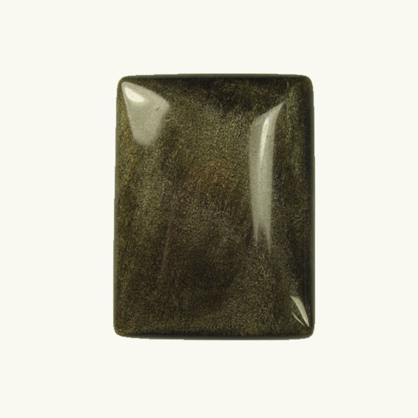 Golden Obsidian 10x14mm Rectangle Cabochon - Pack of 2