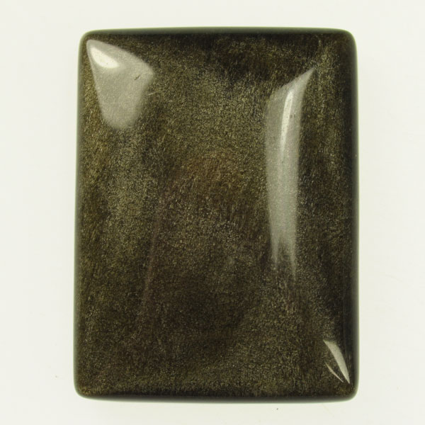 Golden Obsidian 30x40mm Rectangle Cabochon