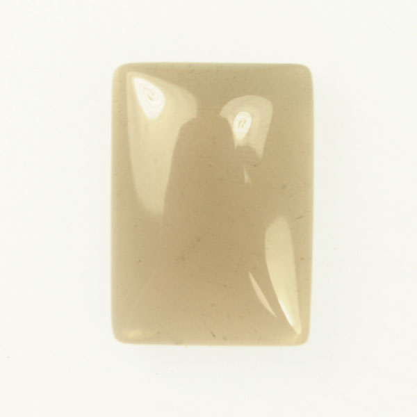 Smoky Quartz 22x30mm Rectangle Cabochon - Pack of 1