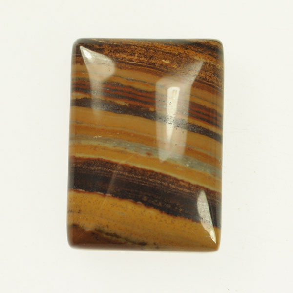 Iron Zebra Jasper 18x25mm Rectangle Cabochon