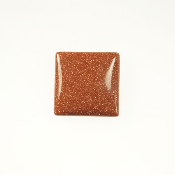 Goldstone 10mm Square Cabochon - Pack of 2