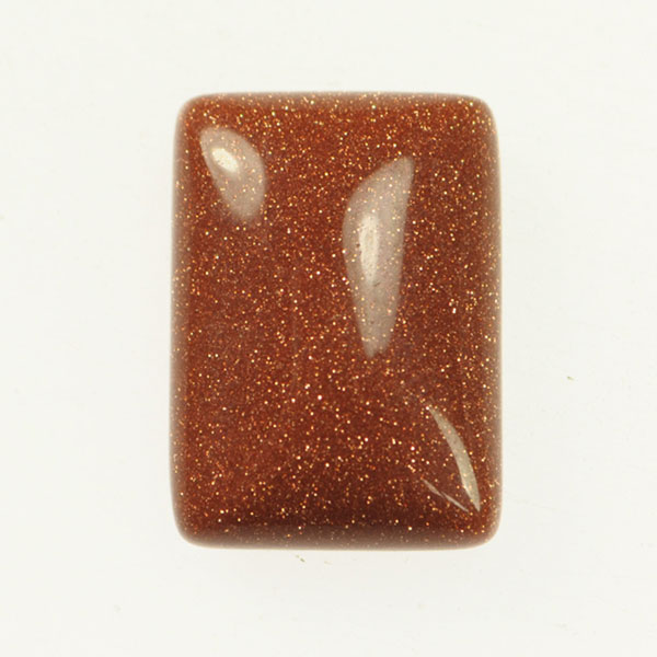 Goldstone 13x18mm Rectangle Cabochon