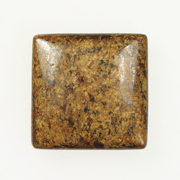 Bronzite 25mm Square Cabochon