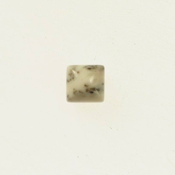 New Brazilian Agate 10mm Square Cabochon - Pack of 2