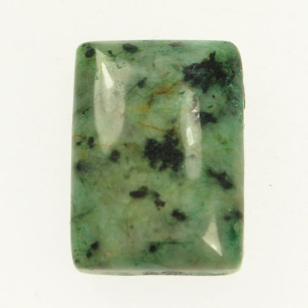 African Turquoise 18x25mm Rectangle Cabochon