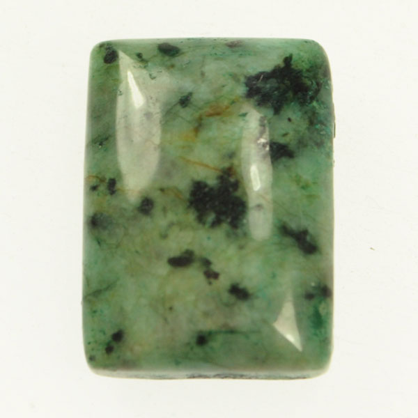 African Turquoise 22x30mm Rectangle Cabochon - Pack of 1