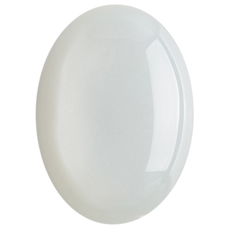 White Moon Stone 18x25mm Oval Cabochon