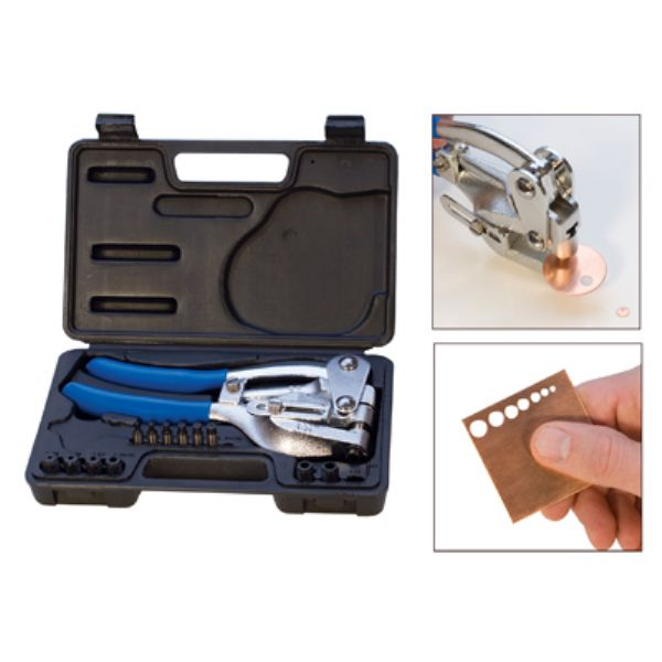 7 Holes Metal Punch Kit- 2.38mm to 7.14mm - Pack of 1 Kit