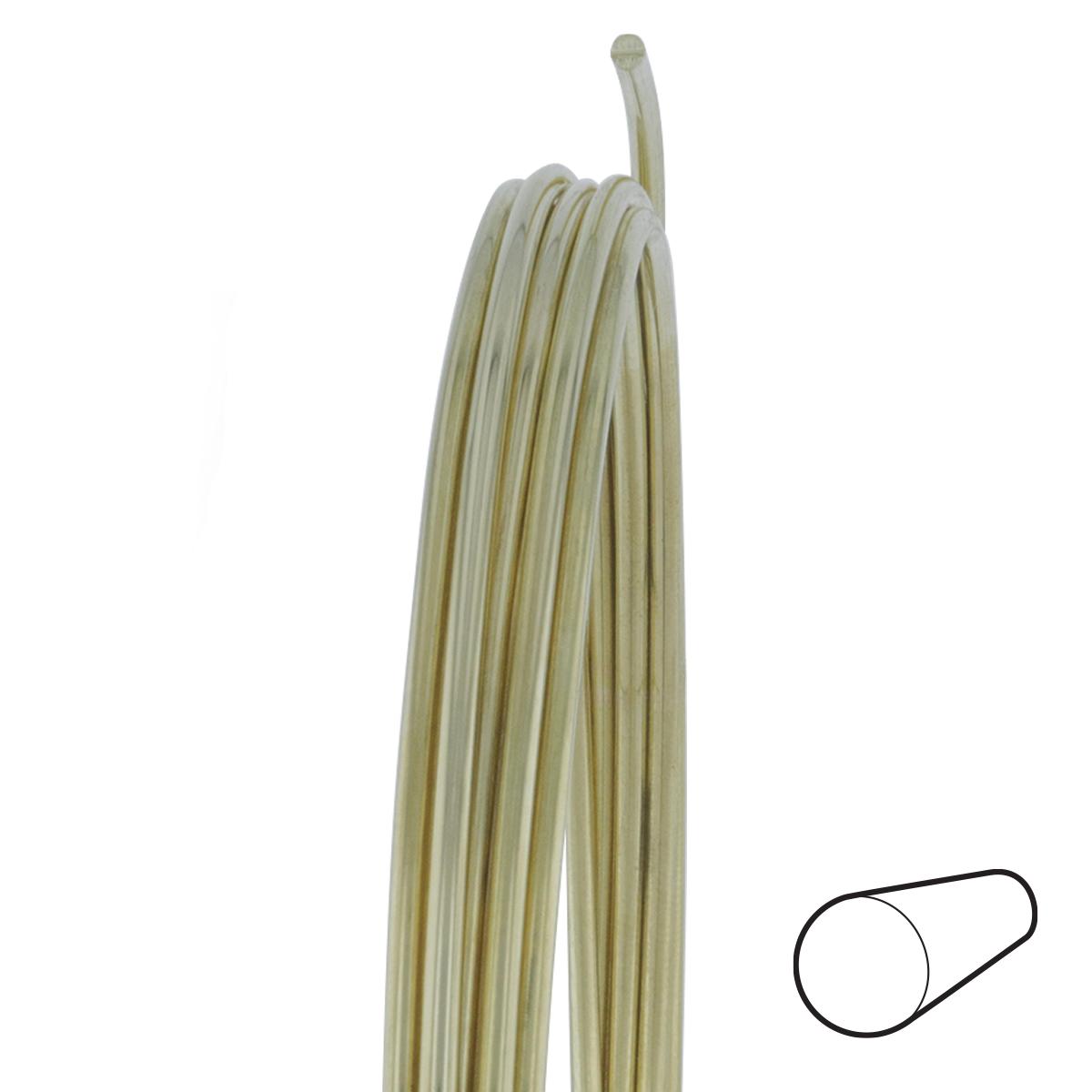12 Gauge Round Dead Soft Yellow Brass Wire: Wire Jewelry | Wire Wrap ...