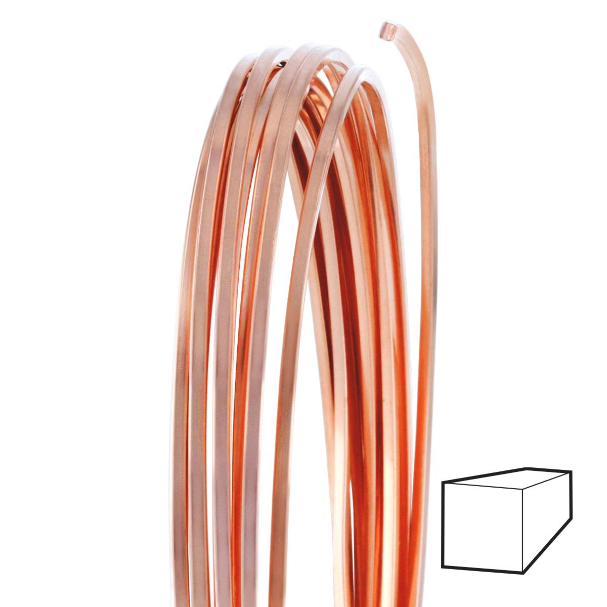 Half hard brass wire wire center 18 gauge square half hard copper wire wire jewelry wire wrap rh wirejewelry com wire gauge greentooth Gallery