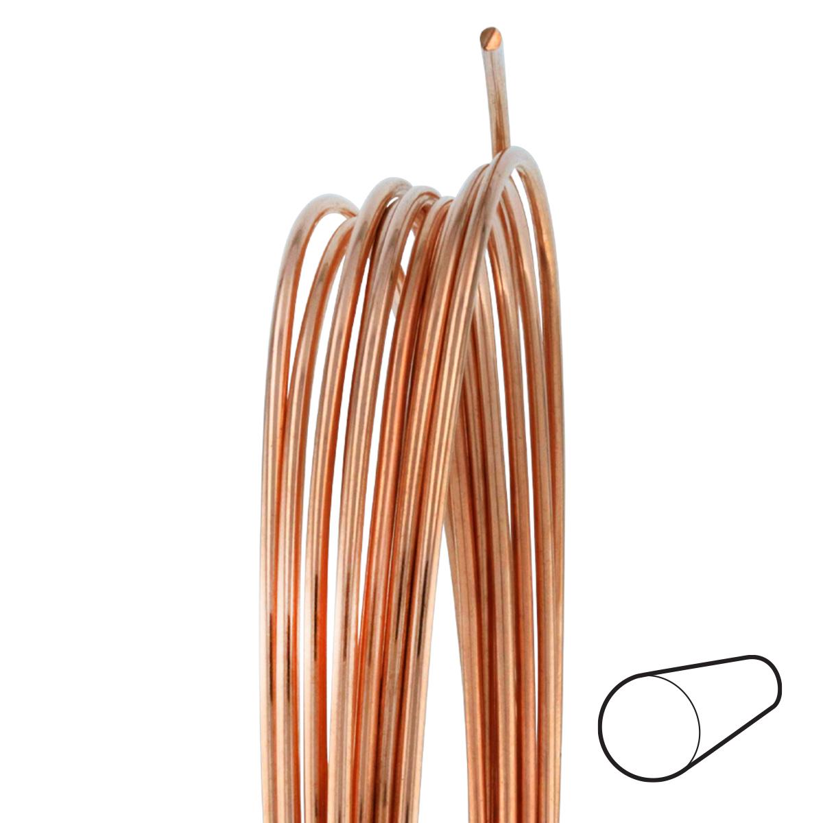 6 gauge round dead soft copper wire wire jewelry wire wrap 6 gauge round dead soft copper wire greentooth Gallery