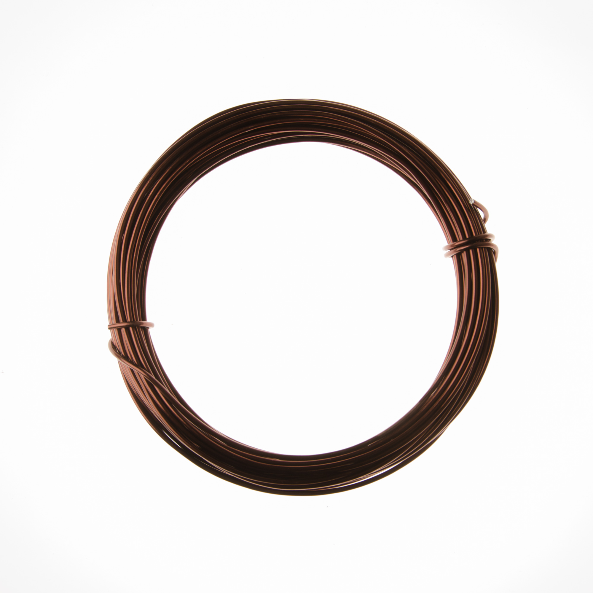 12 Gauge Brown Anodized Aluminum Wire - 39ft: Wire Jewelry | Wire ...