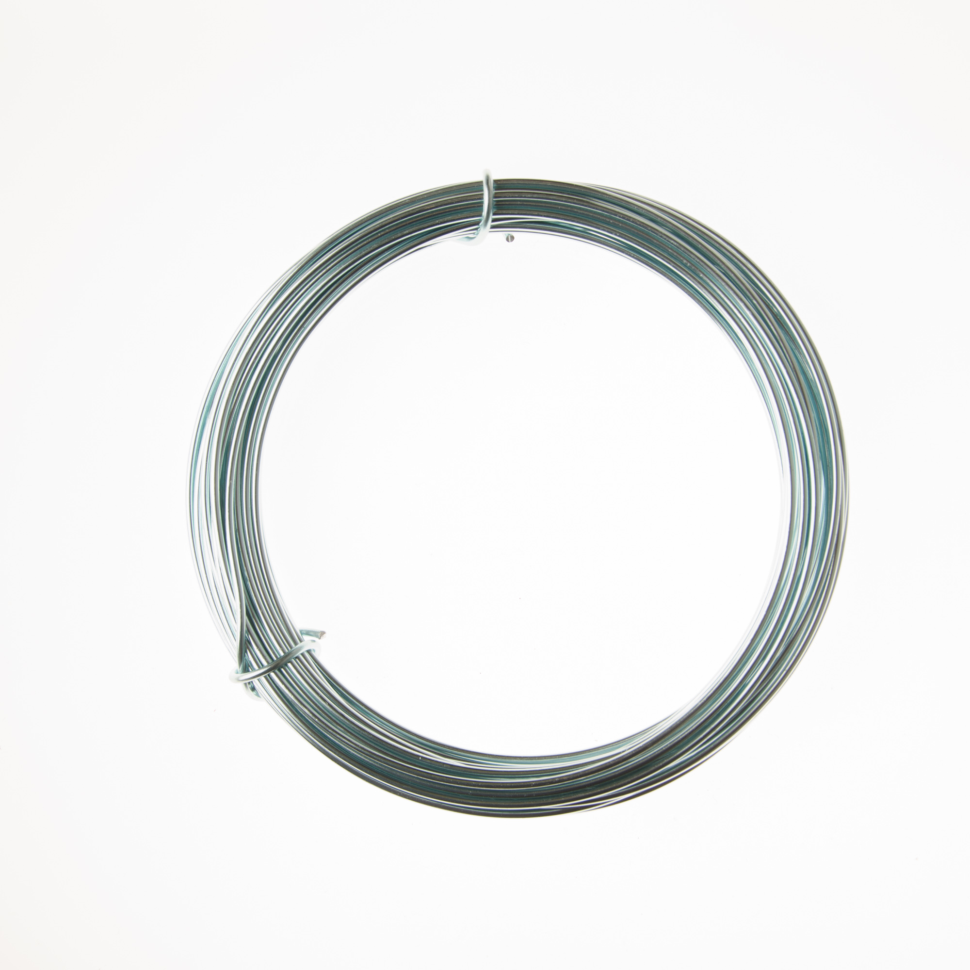 12 Gauge Ice Blue Anodized Aluminum Wire - 39ft: Wire Jewelry   Wire ...
