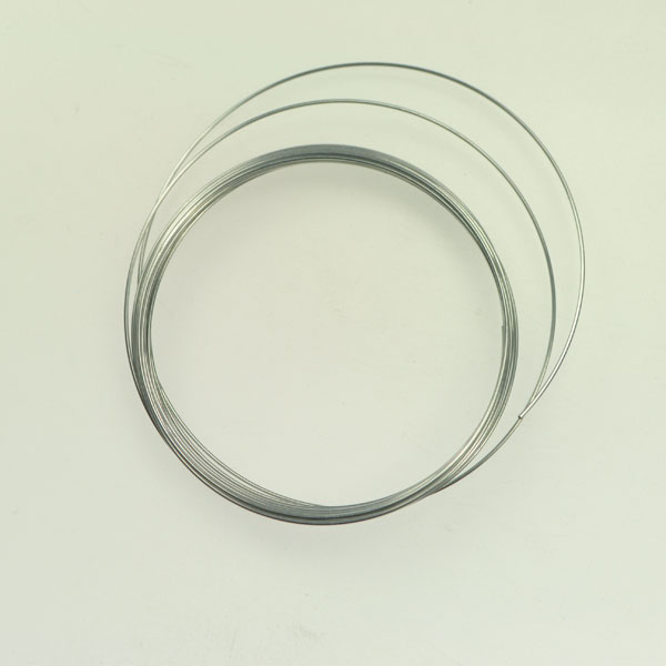 22 Gauge Bracelet Memory Wire Silver Finish - Approximatly 20 coils