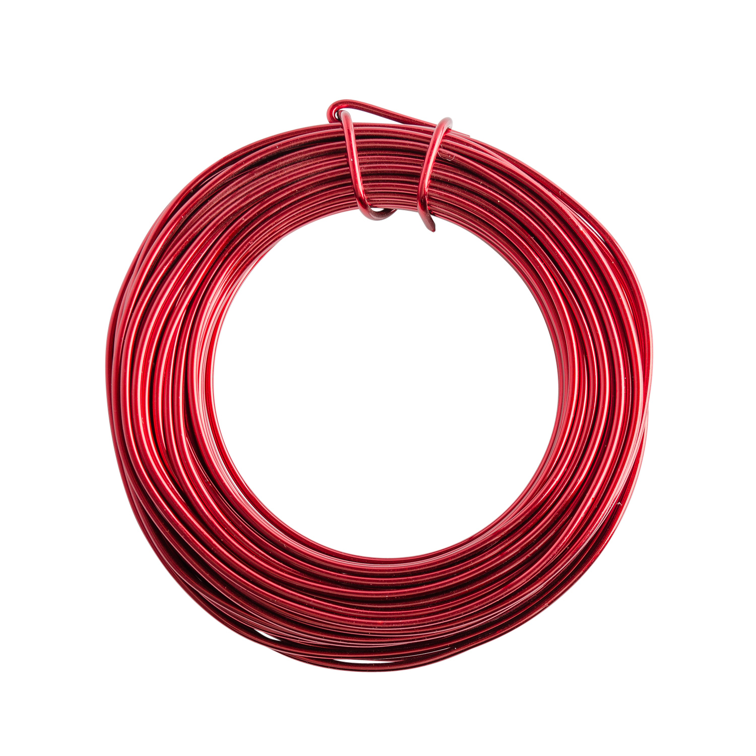 18 Gauge Red Enameled Aluminum Wire - 200ft