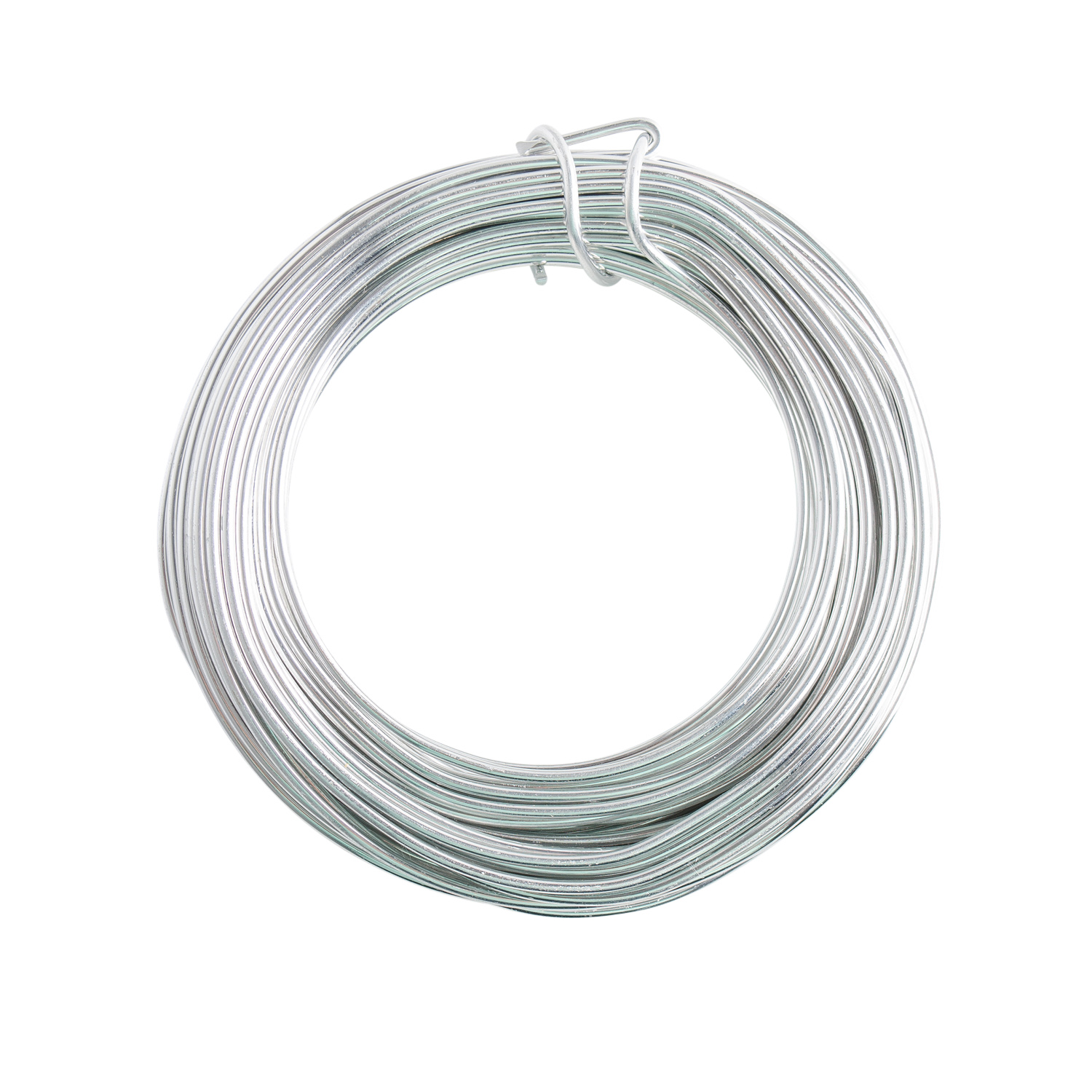 18 Gauge Silver Enameled Aluminum Wire - 200ft