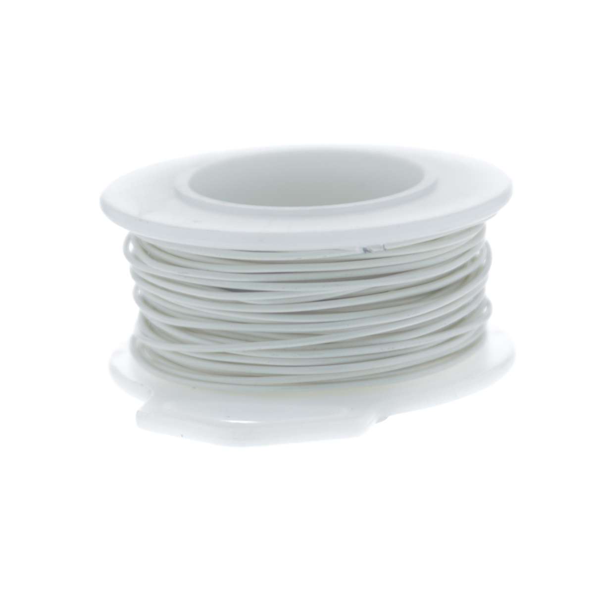 20 Gauge Round Silver Plated Antique White Copper Craft Wire - 25 ft ...