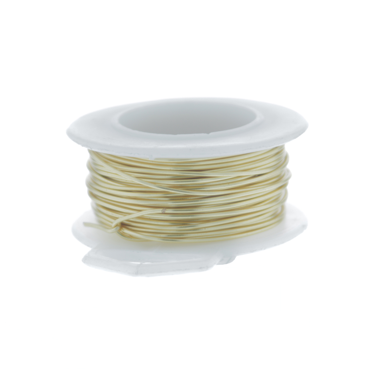 22 Gauge Round Silver Plated Gold Copper Craft Wire - 30 ft
