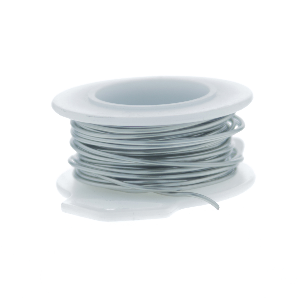 20 Gauge Round Silver Plated Titanium Copper Craft Wire - 25 ft ...