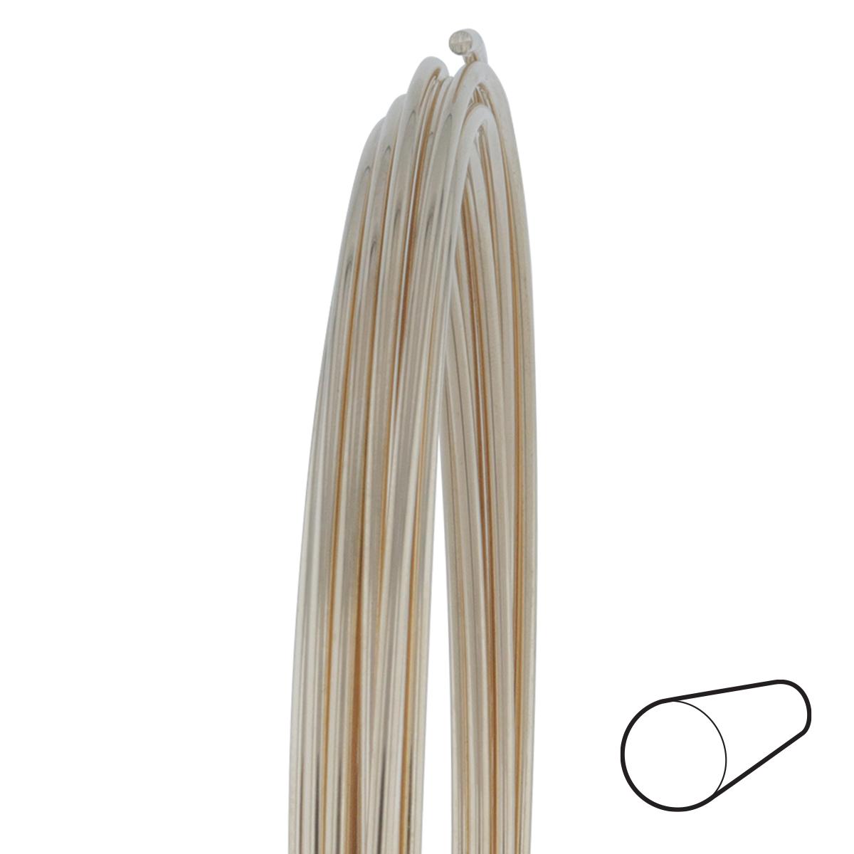 24 Gauge Round Half Hard 14/20 Gold Filled Wire: Wire Jewelry | Wire ...
