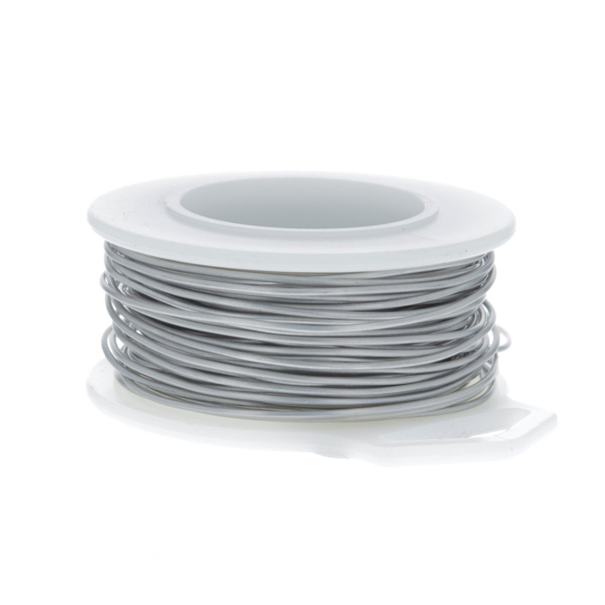 22 gauge round brushed silver enameled craft wire 30ft for 22 gauge craft wire