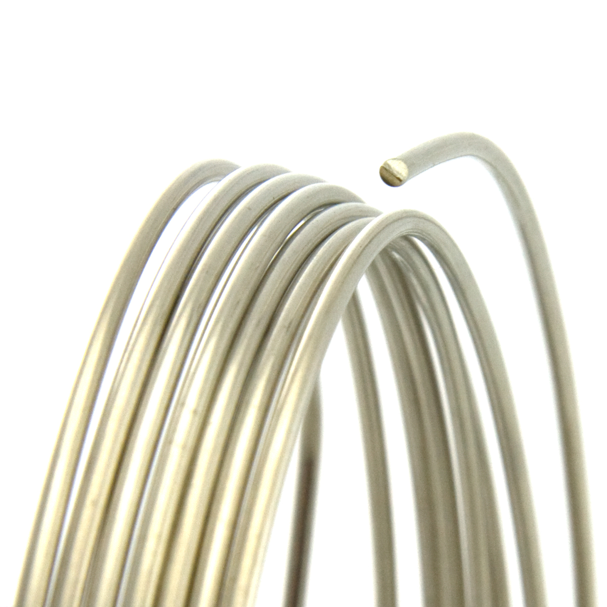 14 Gauge Round Dead Soft Nickel Silver Wire: Wire Jewelry