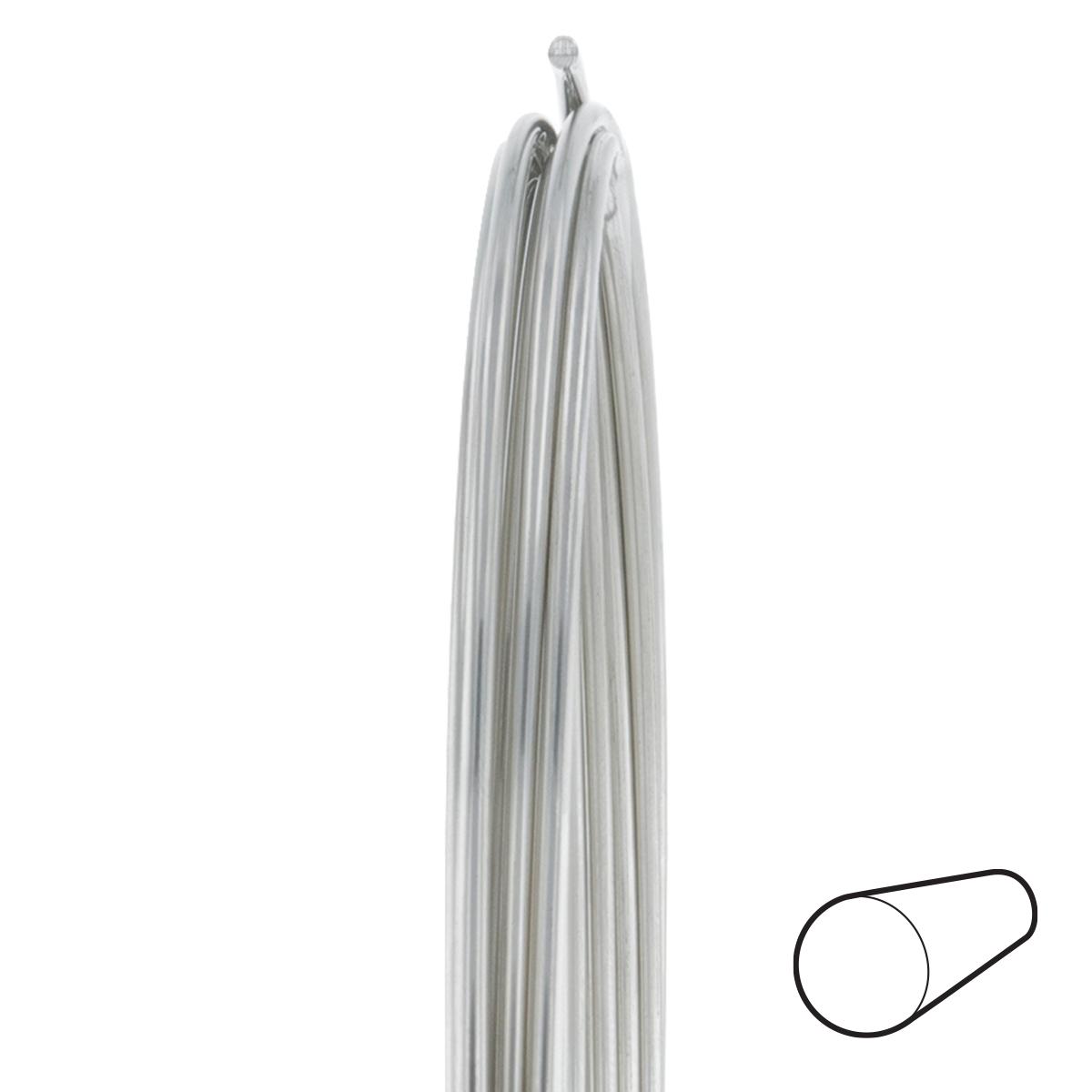 18 Gauge Round Dead Soft Nickel Silver Wire: Wire Jewelry | Wire ...
