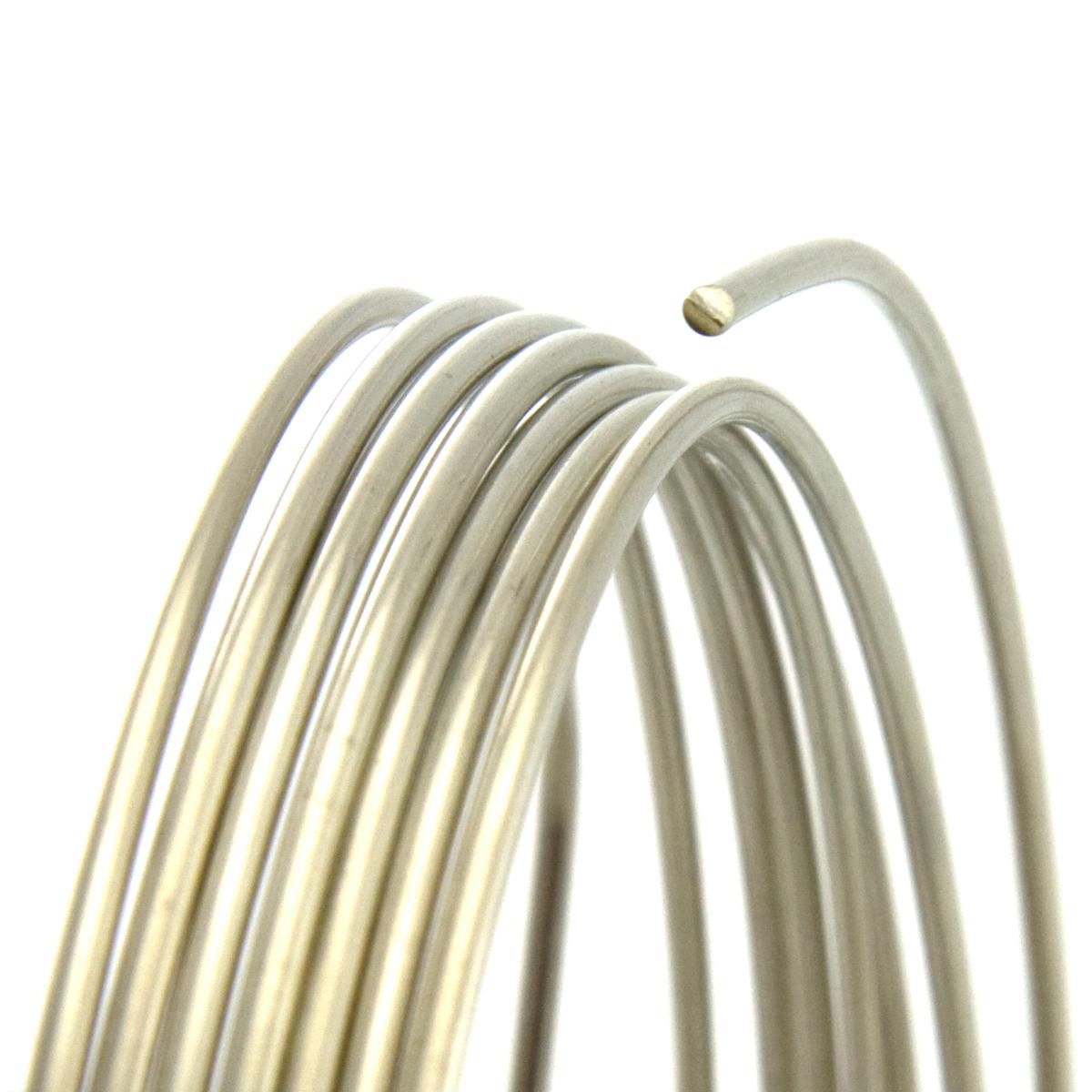 20 Gauge Round Half Hard Nickel Silver Wire: Wire Jewelry | Wire ...
