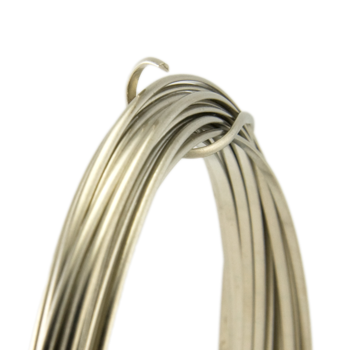 20 Gauge Half Round Half Hard Nickel Silver Wire: Wire Jewelry ...