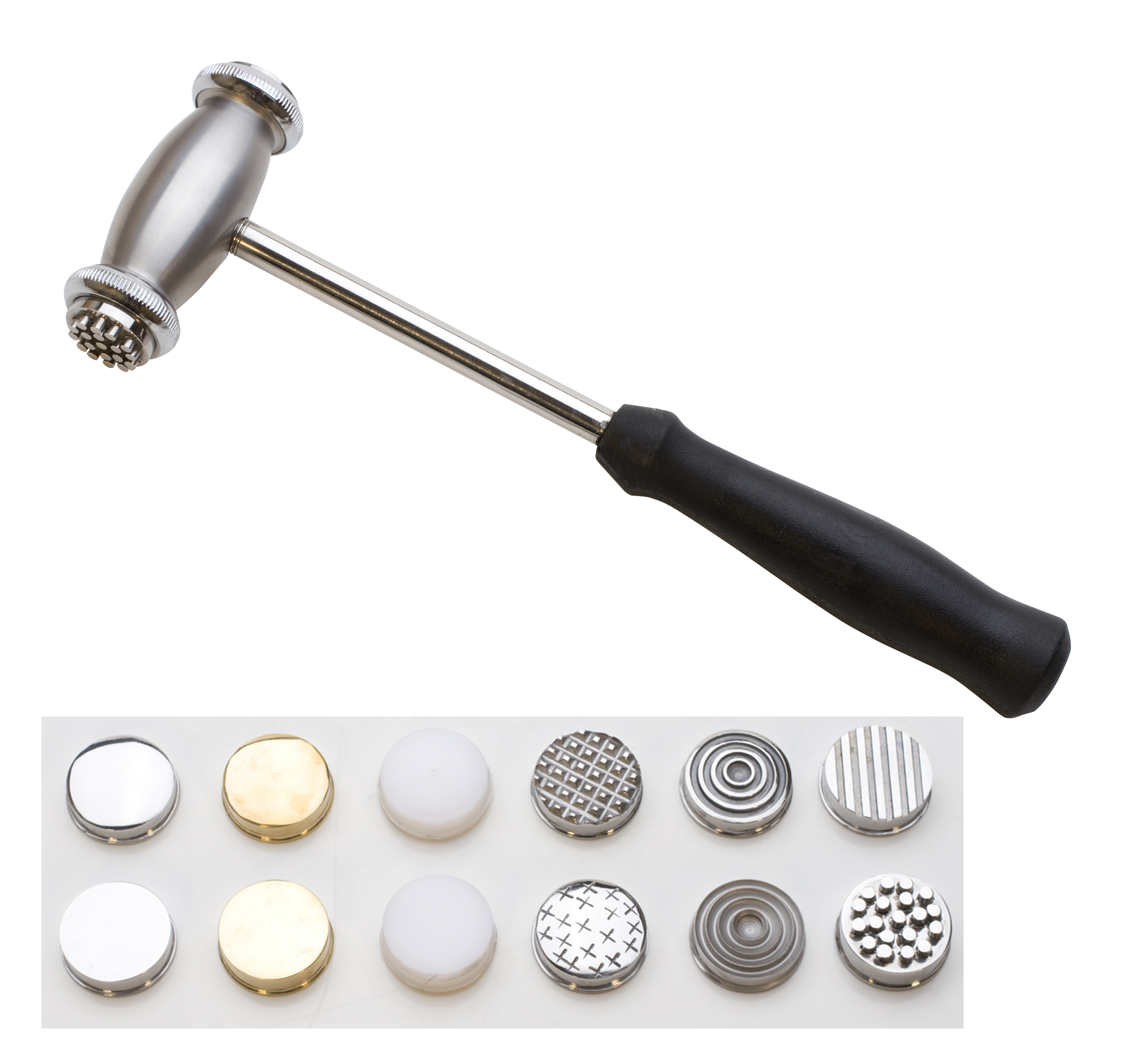 Professional Texturing Hammer With 12 Faces: Wire Jewelry | Wire ...
