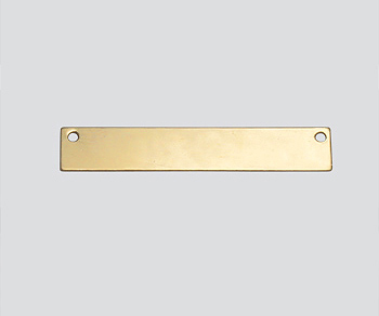 Gold Filled Charm 2 Hole Connector 5.2x31mm - Pack of 1
