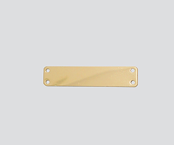 Gold Filled Charm 4 Hole Connector 6.5x32mm - Pack of 1