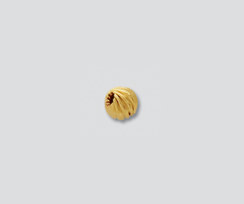 Gold Filled Twist Bead 4mm - Pack of 5