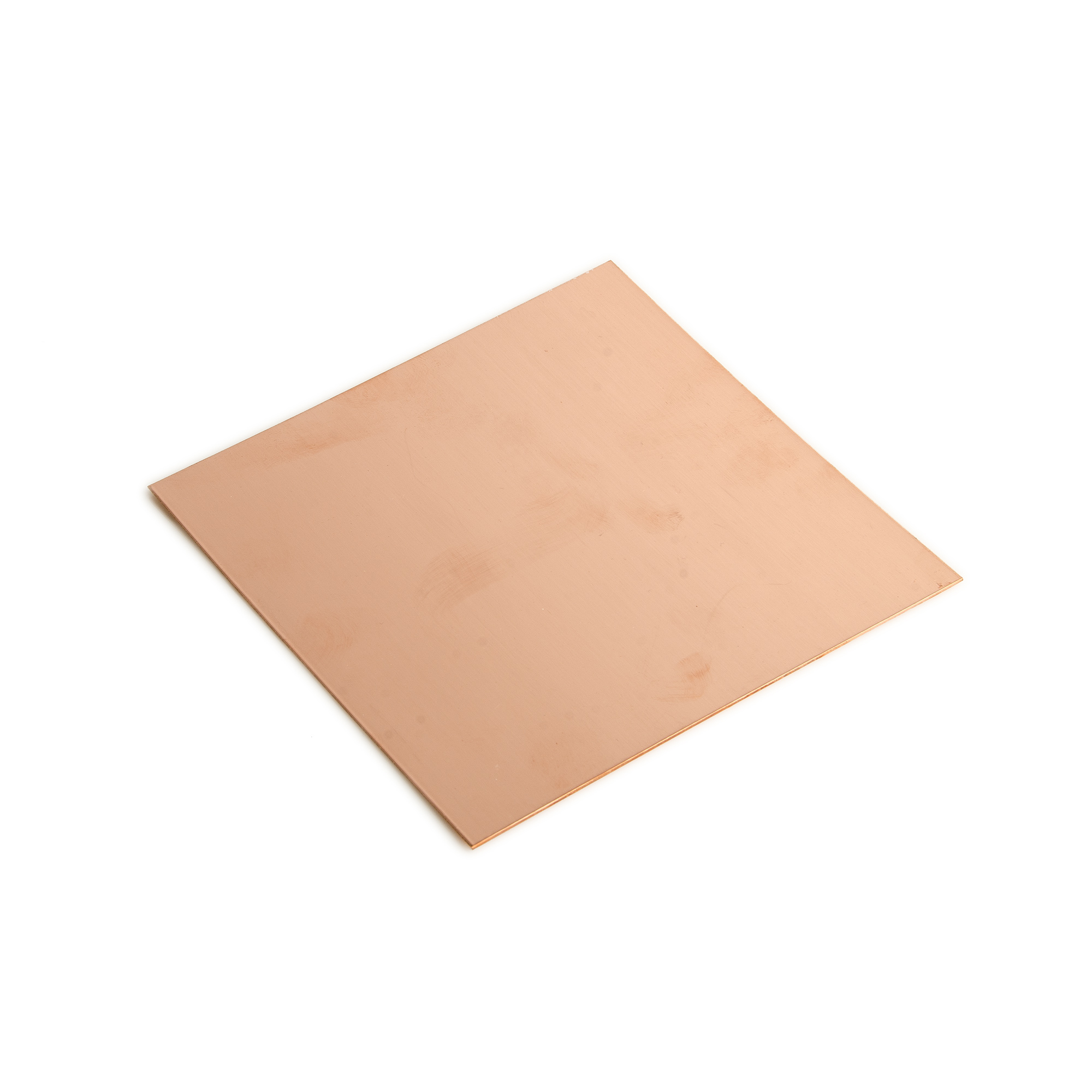 18 Gauge 0.040 Dead Soft Copper Sheet Metal - 6x6 Inch
