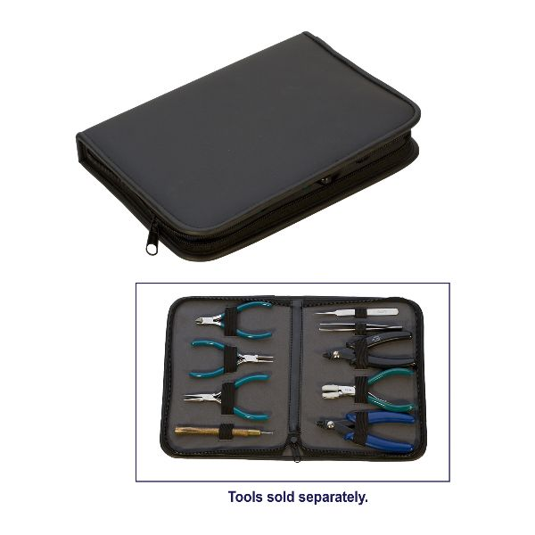 Black Zippered Tool Case - Medium