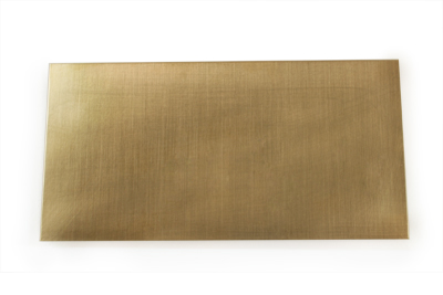 Red Brass Sheet Metal 24 Gauge 6 X 3 Inches