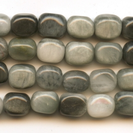 Cat's Eye 8x10mm Nugget Beads - 8 Inch Strand