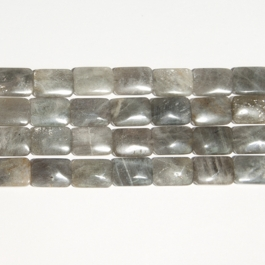 Labradorite 13x18mm Rectangle Beads - 8 Inch Strand