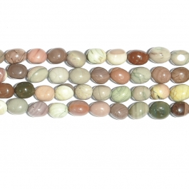 Imperial Jasper 12x16 Nugget Beads - 8 Inch Strand