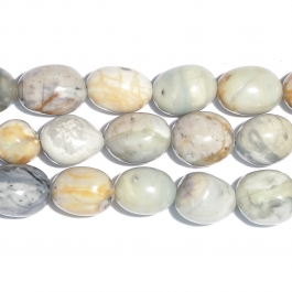 Picasso Jasper 12x16 Tumble Nugget Beads - 8 Inch Strand