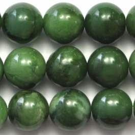 West African Jade 10mm Round 8 Inch Strand