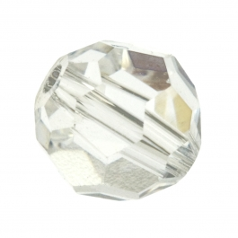 8mm Crystal 5000 Round Swarovski Crystal Beads - Pack of 6